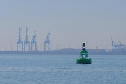 Passage Zeebrugge.