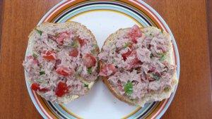 tonijnsalade met borlotti bonen
