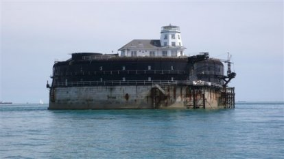 Passage No Mans Land bij  het eiland Wight