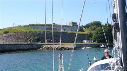 Haveningang bij Weymouth
