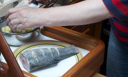 Zeebaars uit Chez Pico's cuisine