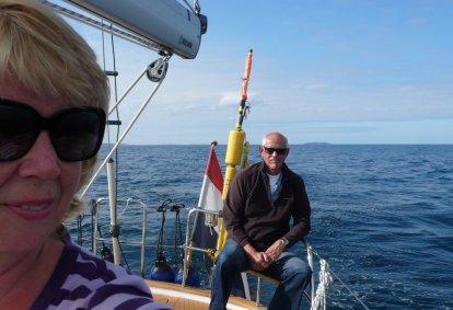 Eindelijk op zee en het is zomer !!!